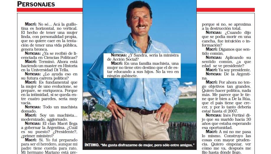 Archivo Feroz Las Frases Más Polémicas De Mauricio Macri