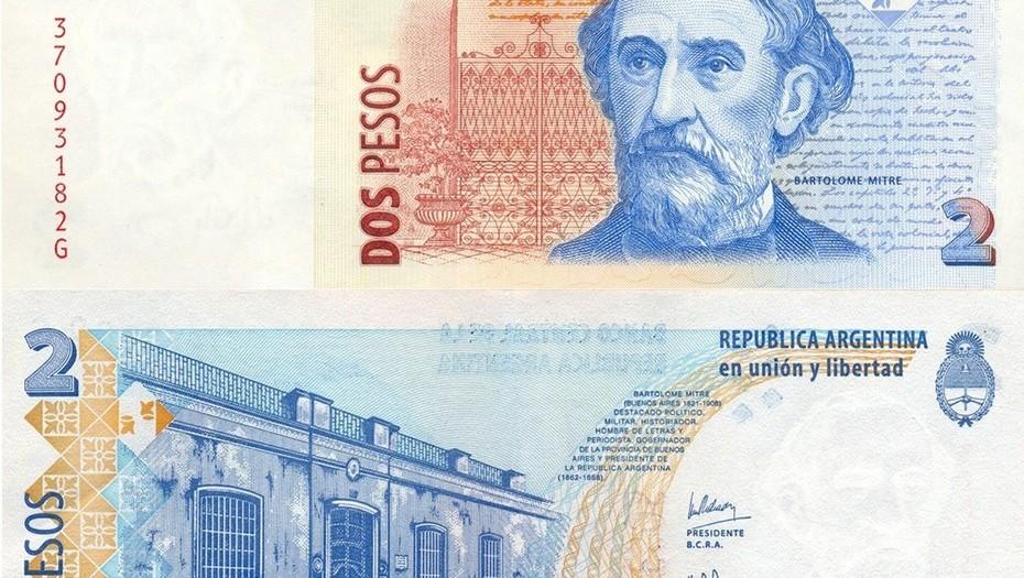 Y el billete de 2 pesos salió finalmente de circulación..