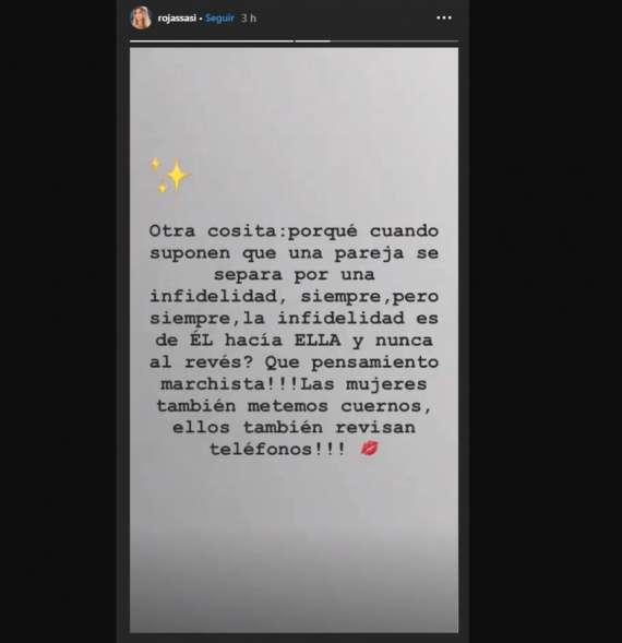 Sabrina Rojas Y Una Rara Frase Sobre La Fidelidad Mendoza Post