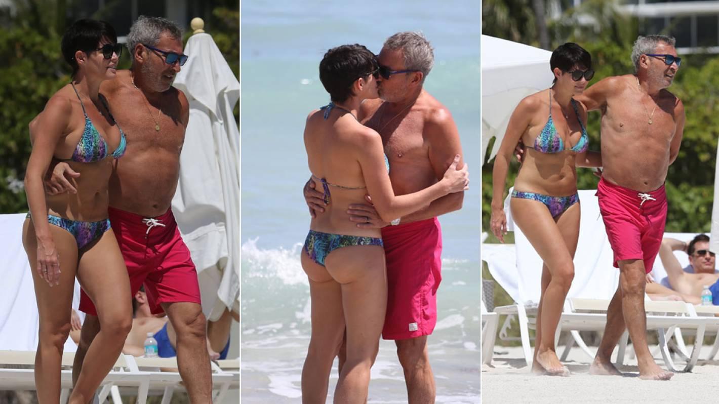 f96c491c4bbf Sin Photoshop: las acarameladas vacaciones de Vila y Pamela David ...