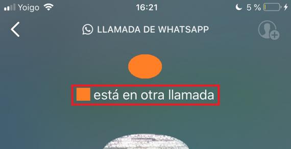 Resultado de imagen para Llamada en espera Whatsapp 2019