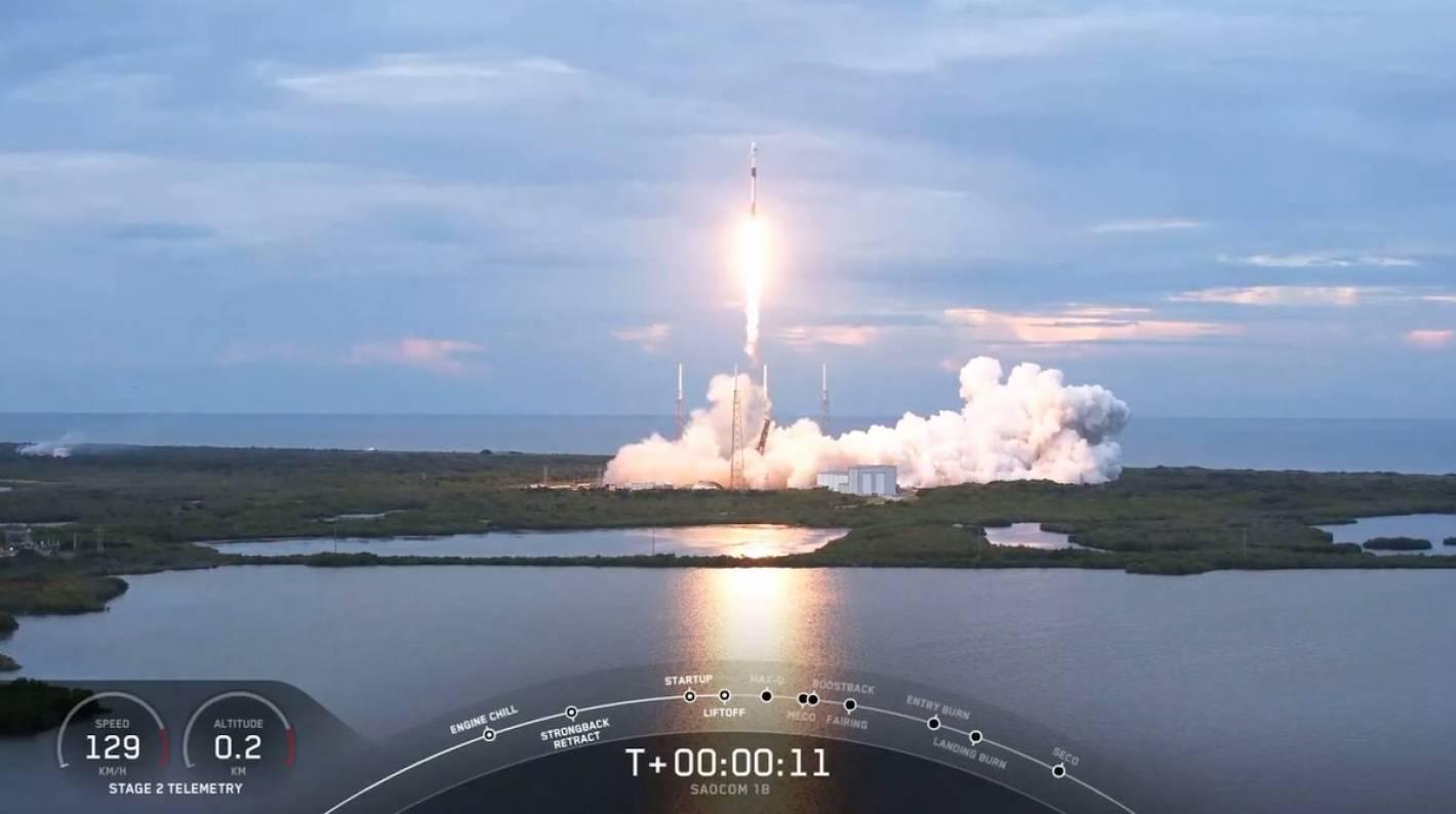 Lanzamiento del satlélite argentino SAOCOM 1B desde Florida - Mendoza Post