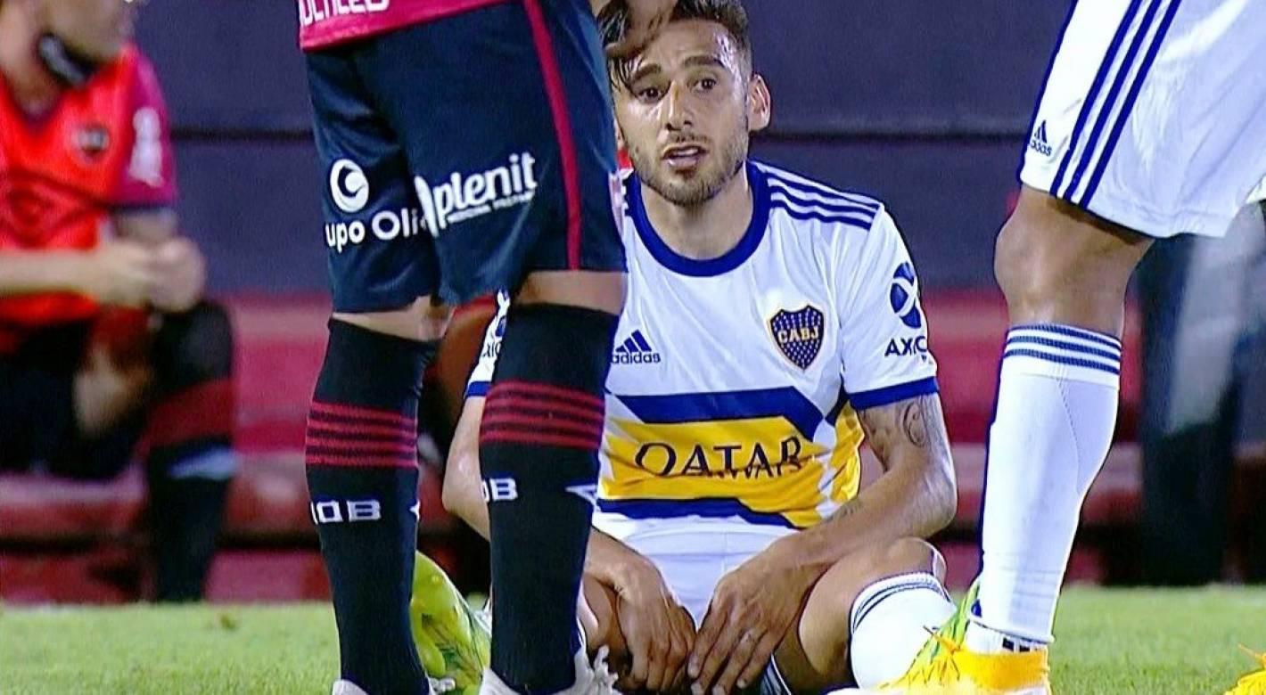 Salvio se quedó afuera de la Selección Argentina por su lesión - Mendoza Post