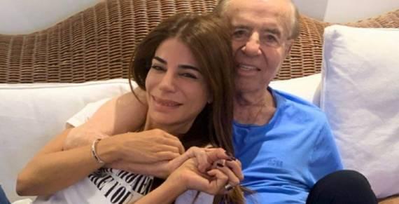 Carlos Menem salió del coma y dejó el respirador artificial