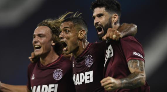 Lanús y Vélez definen al primer finalista de la Sudamericana