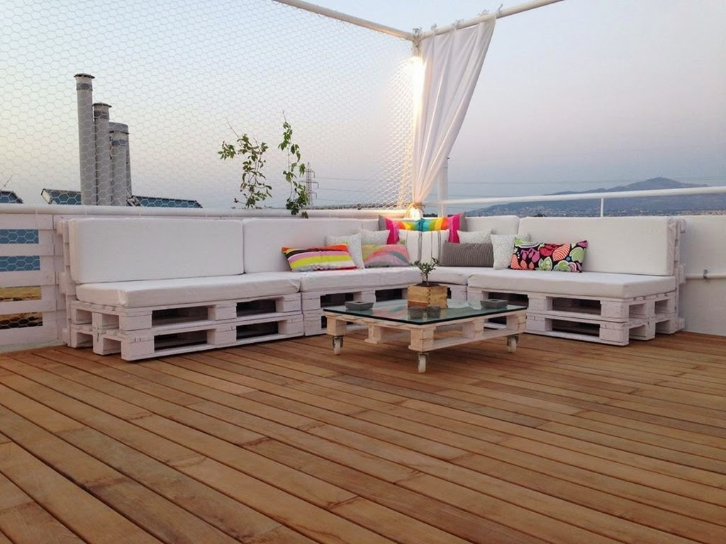 Tendencia: Cómo realizar tus propios muebles con palets reciclados ...
