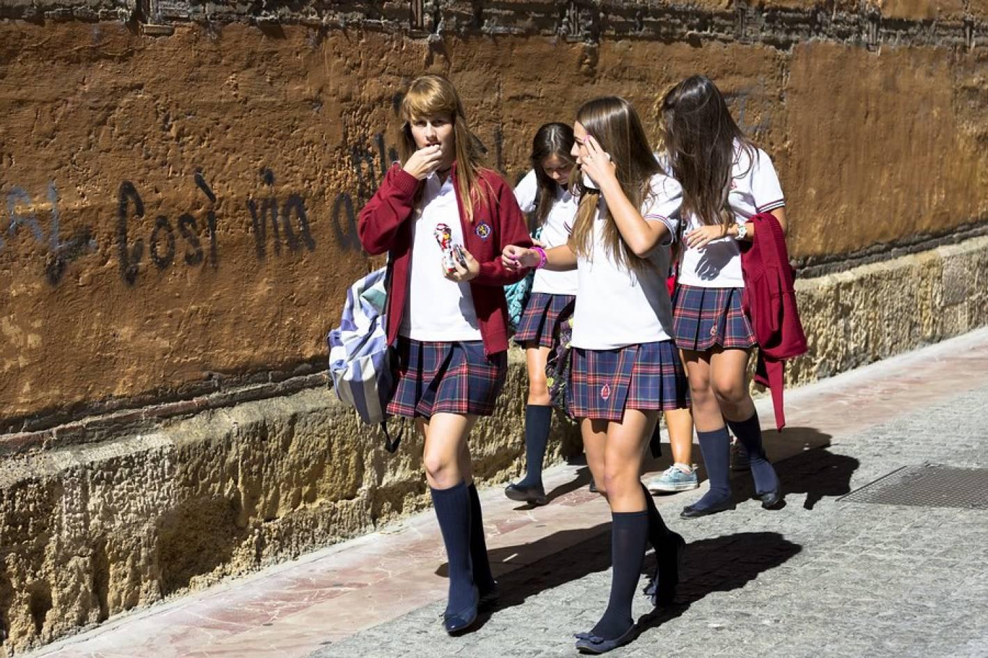 7ffb23549 Este colegio español tiene el uniforme más lindo del mundo - Mendoza ...