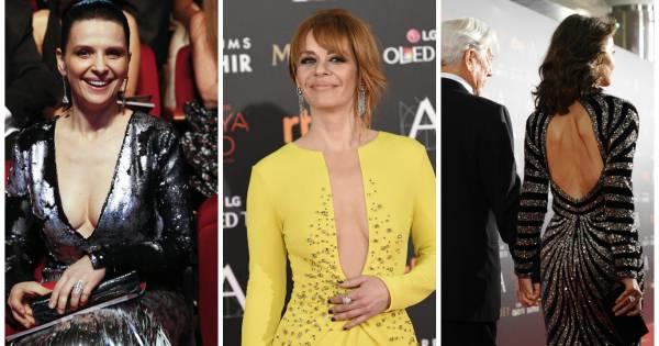 Goya 2016 Vestidos Y Escotes Que Triunfaron En La