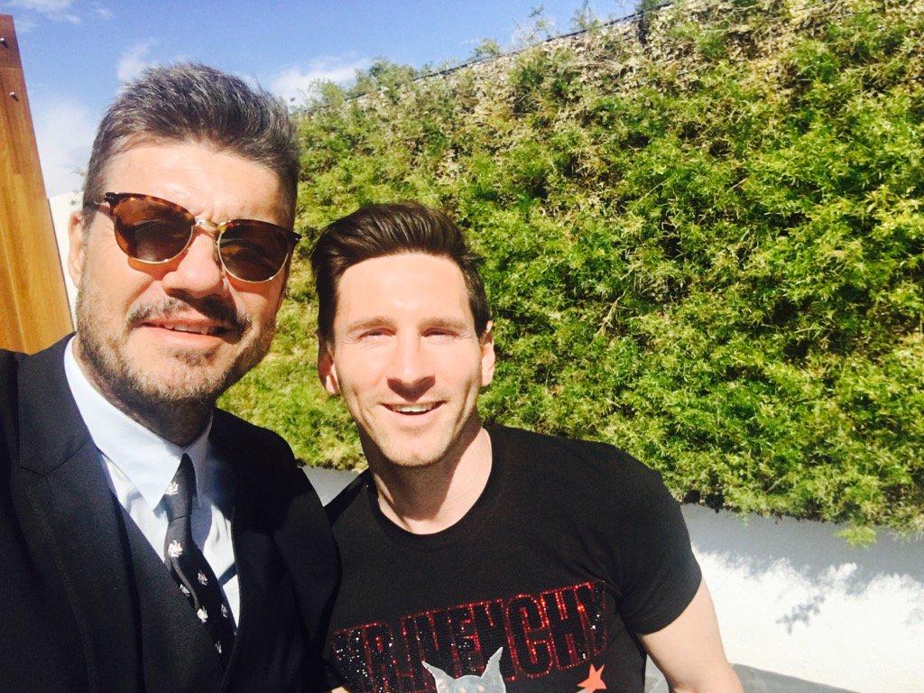 El Cari U00f1oso Tuit De Tinelli Para Leo Messi Mendoza Post