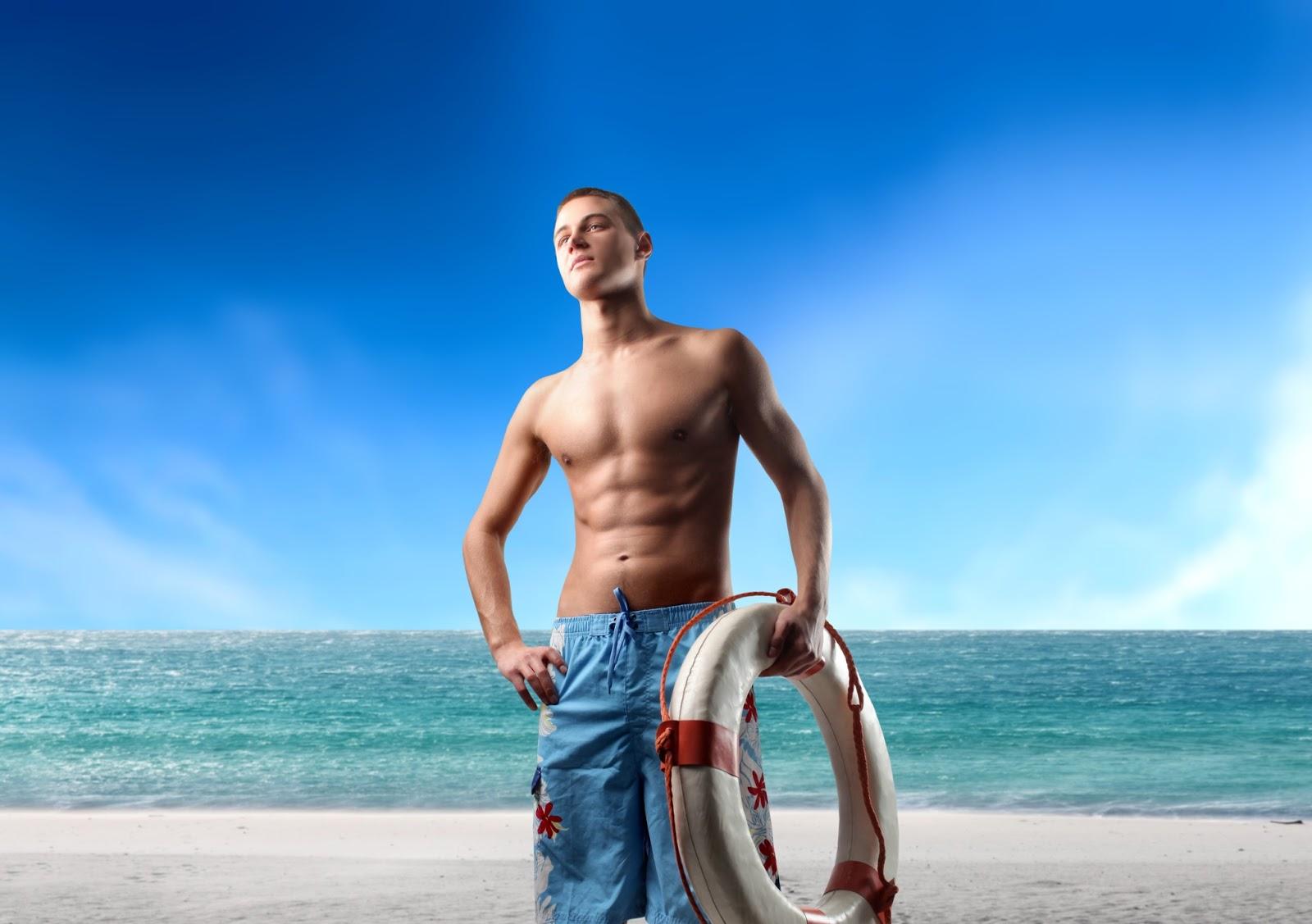 Fotos En La Playa Hombre: Solo Para Hombres: Cómo Lucir Bien En La Playa