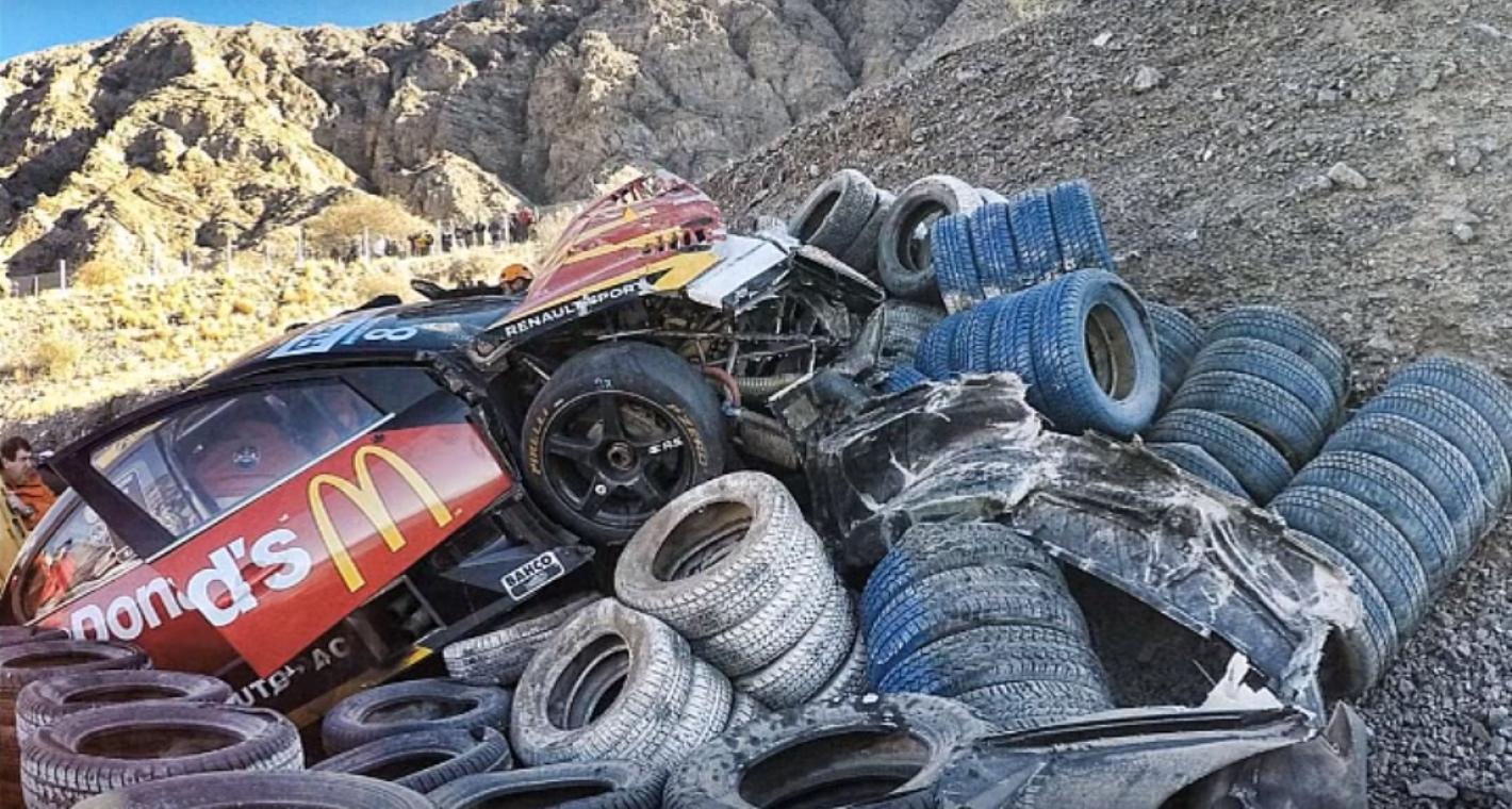 Circuito Zonda San Juan : Video en primera persona: durísimo accidente en el súper tc2000
