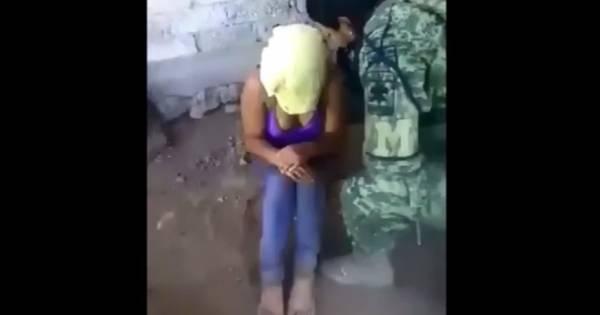 Escalofriante video: una mujer torturada por militares en México - Mendoza Post