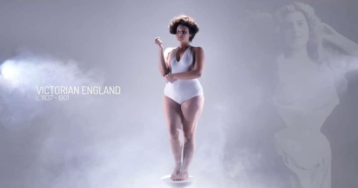 """Mirá como cambió el concepto de """"cuerpo perfecto"""" según la época ..."""